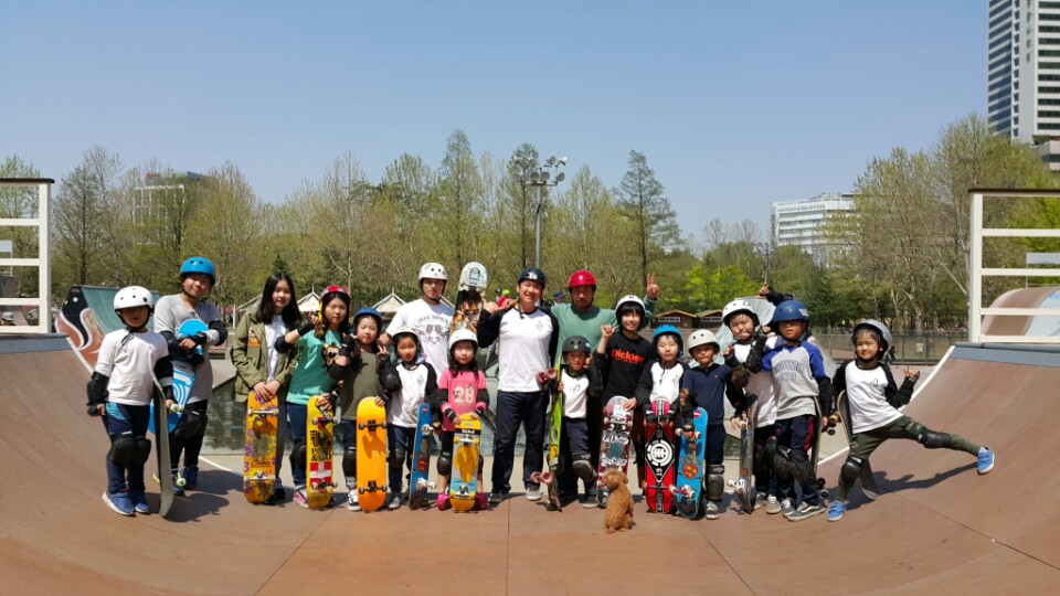 Elbert Kim Korean Skateboard Training Program