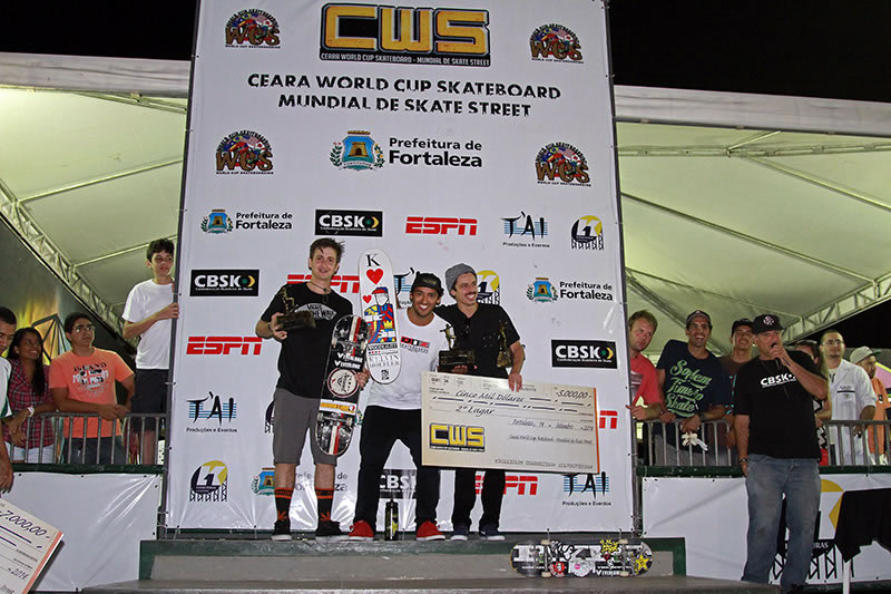 2014 CEARA World Cup Podium