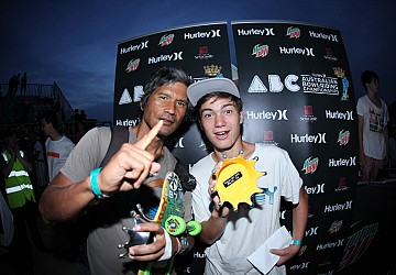 Sorgente, Ngoho on top at Hurley ABC!