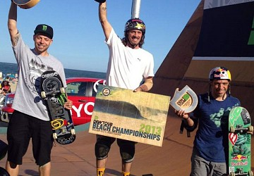Lasek, Barros and Miller on top at Dew Tour!