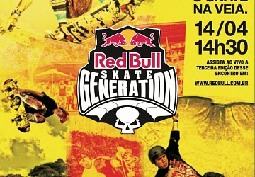 Pedro on top at Red Bull Skate Generation